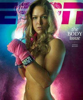 UFC Women's Champ Ronda Rousey Poses for SI 2015 Swimsuit Issue