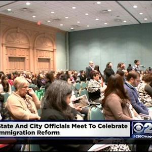 Local Leaders Meet To Celebrate Immigration Executive Order