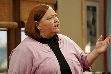 "Conchata Ferrell as Berta CBS' ""Two and a Half Men"""