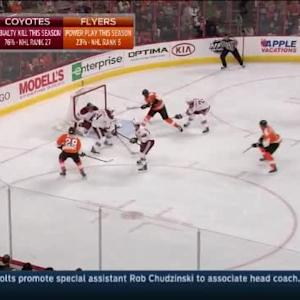 Mike Smith Save on Wayne Simmonds (08:20/1st)