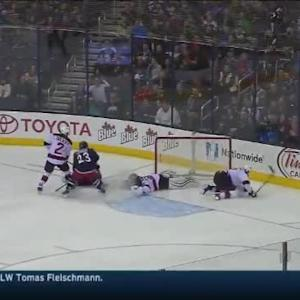 Cory Schneider Save on Artem Anisimov (08:54/3rd)