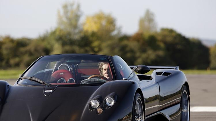"James May in a Zonda as seen in <a href=""/baselineshow/4742776"">""Top Gear.""</a> Top Gear (NBC)"
