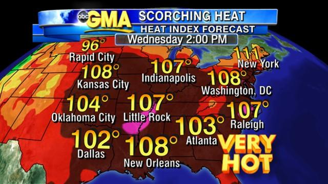 Severe Storms to Bring Break in High Temperatures From Heat Wave