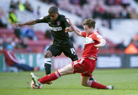 Soccer - npower Football League Championship - Middlesbrough v Charlton Atheltic - Riverside Stadium