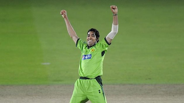 Pakistan's Umar Gul picked up a five-wicket haul in just 2.2 overs