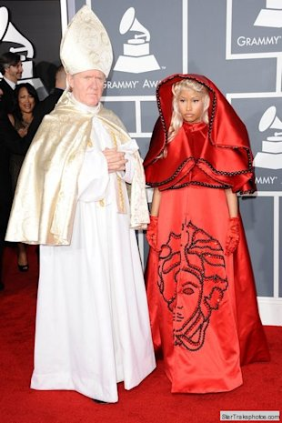 nicki minaj 54th grammys