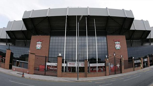 A general view of Anfield, home of English Premier League club Liverpool (Reuters)