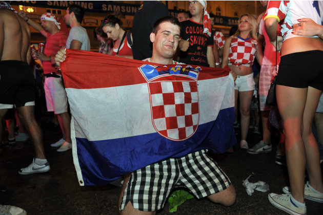 Croatian Football Fans AFP/Getty Images