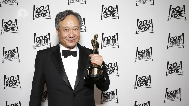 Director Ang Lee attends the Twentieth Century Fox And Fox Searchlight Pictures Academy Awards Nominees Party at Lure on Sunday, February 24, 2013 in Los Angeles. (Photo by Todd Williamson/Invision for Fox Searchlight/AP)