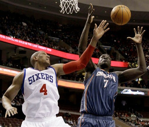 76ers rout Bobcats in front of 'Fresh Prince'