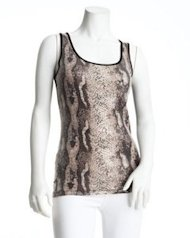 bebe 2b snake top