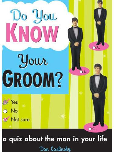 Do You Know Your Groom Book