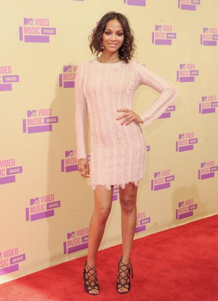 Saldana at the MTV VMAs