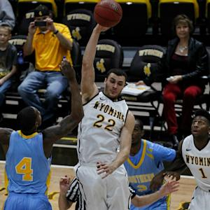 Wyoming Dunk Party Steals The Show Against Southern