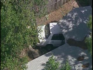 Car crashes into Tampa house off Waters Ave and Redbraes Drive