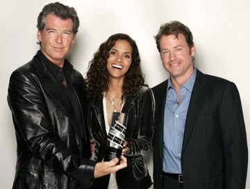 Pierce Brosnan, Halle Berry and Greg Kinnear