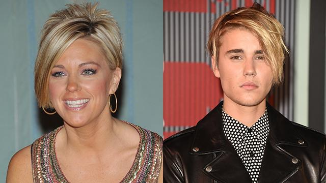 Kate Gosselin Weighs in on Justin Bieber's Copycat Hair: 'He Can Have It'
