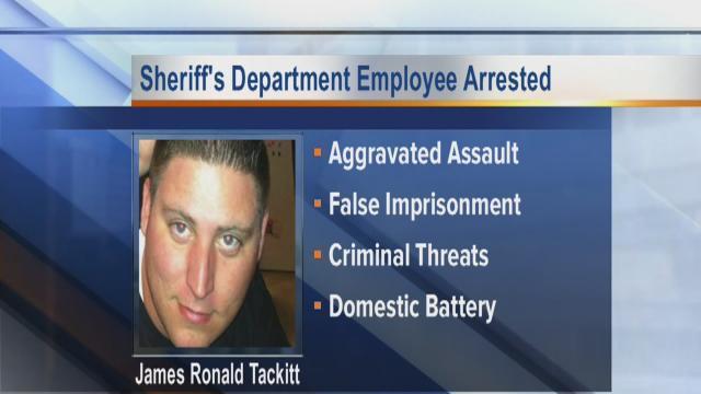 James Tackitt Jr. Arrested