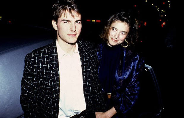 Tom Cruise and first wife Mimi Rogers-Nader Nazemi