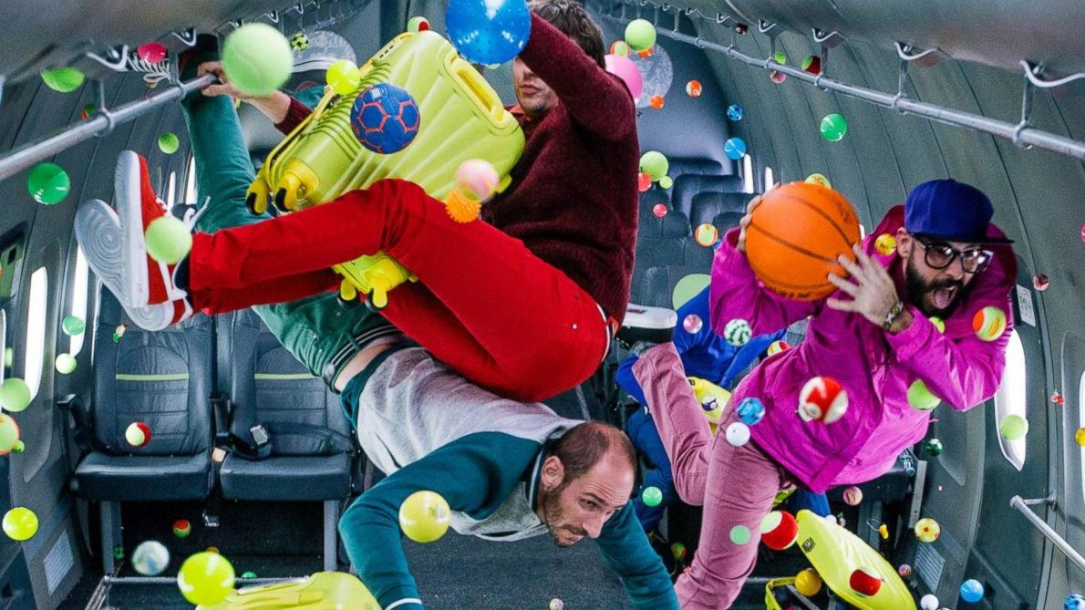 OK Go get messy in zero G for their latest must-watch video