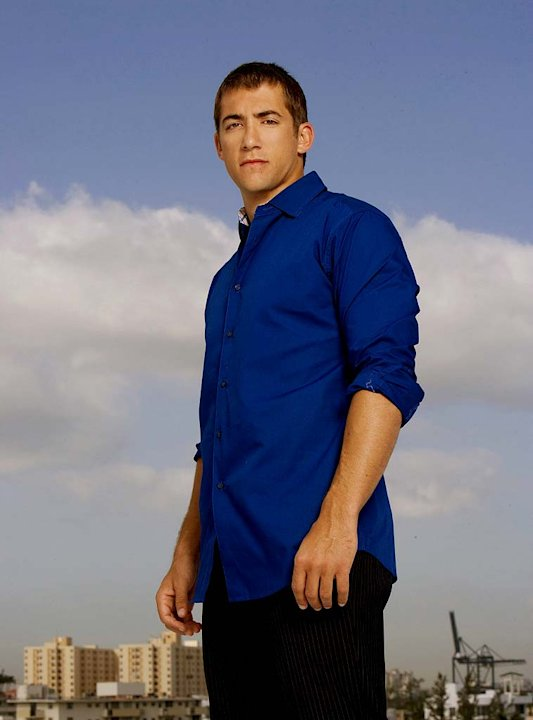 Jonathan Togo stars as Ryan Wolfe in CSI: Miami.
