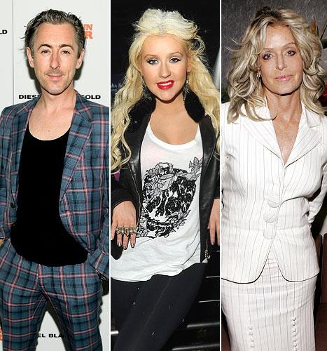 Alan Cumming Slams Christina Aguilera, the Late Farrah Fawcett