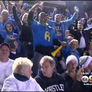 UCLA Fans Savor Win Over USC