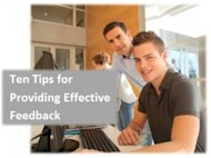 Ten Tips for Providing Effective Feedback image Feedback 300x224