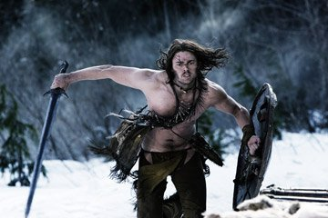 Ghost ( Karl Urban ) wages a one-man war against the Vikings in 20th Century Fox's Pathfinder