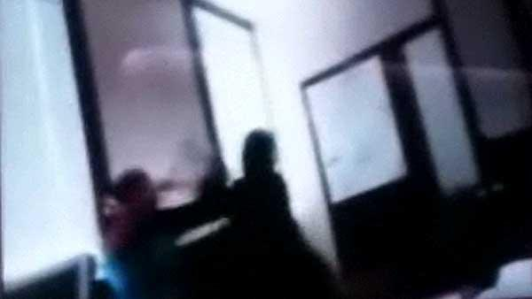 Student-teacher fight caught on video