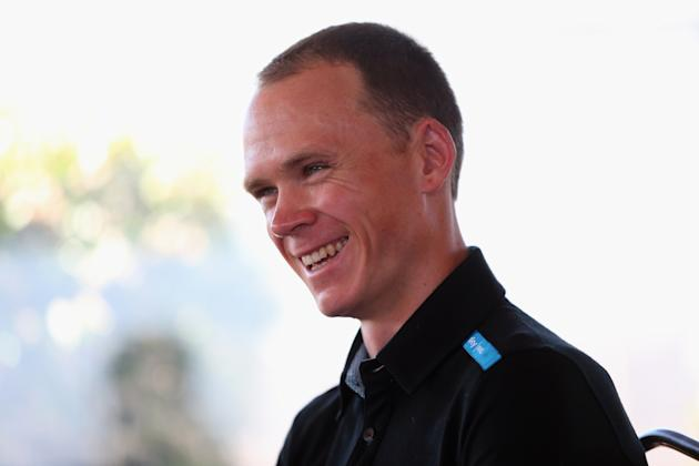 Team Sky Pro Cycling: Chris Froome Pre-Tour de France Media Day