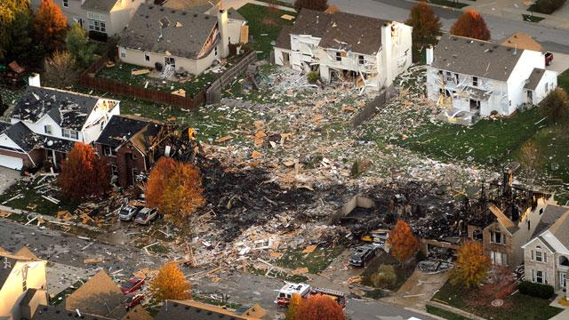 33 Homes Must Go After Indy Blast