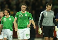Robbie Keane (left) and Shay Given are two of Ireland's most experienced players