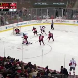 Cory Schneider Save on Mike Hoffman (06:20/3rd)