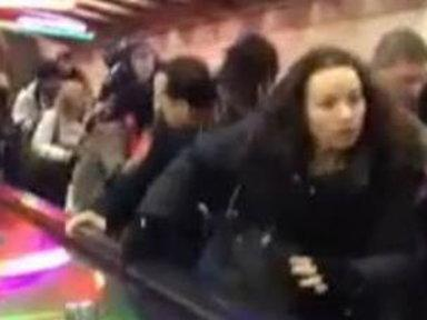 Commuters Injured When Escalator Reverses