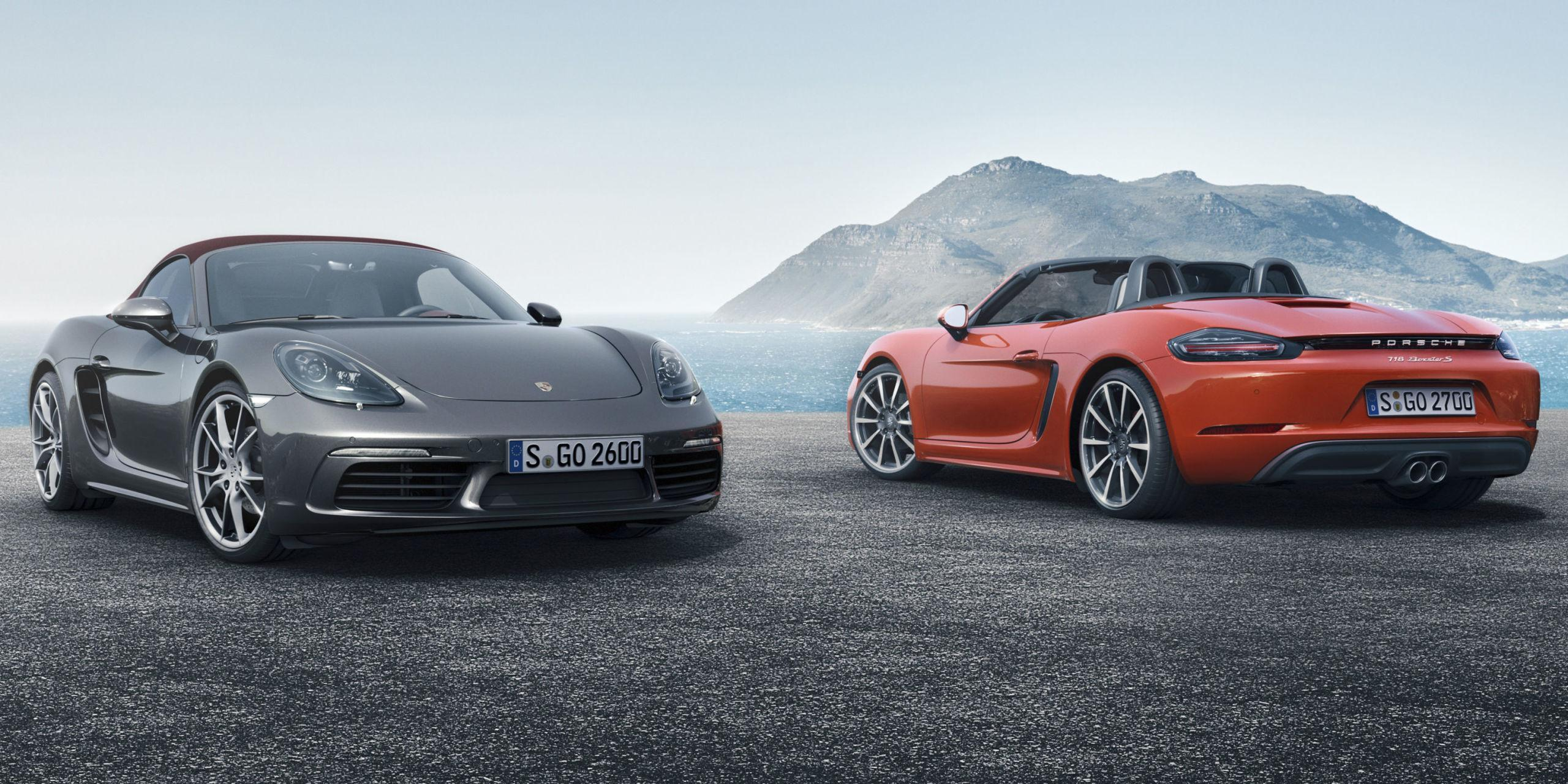 2017 Porsche 718 Boxster and Boxster S: Here They Are, Officially