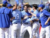 Royals rally in seven-run ninth inning, Blue Jays in walk off