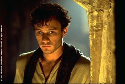 Heath Ledger as Harry in Paramount's The Four Feathers