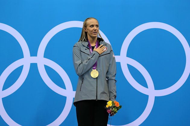 Olympics Day 2 - Swimming