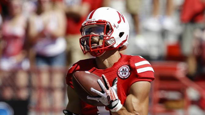 Neb's Westerkamp: Behind-the-back catch 'all luck'