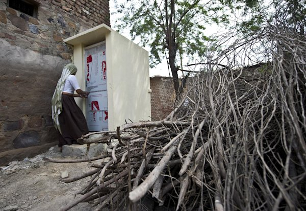 New village toilets a small step for poor Indian women