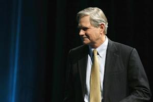Senator Hoeven participates in the Washington Ideas Forum at the Newseum in Washington