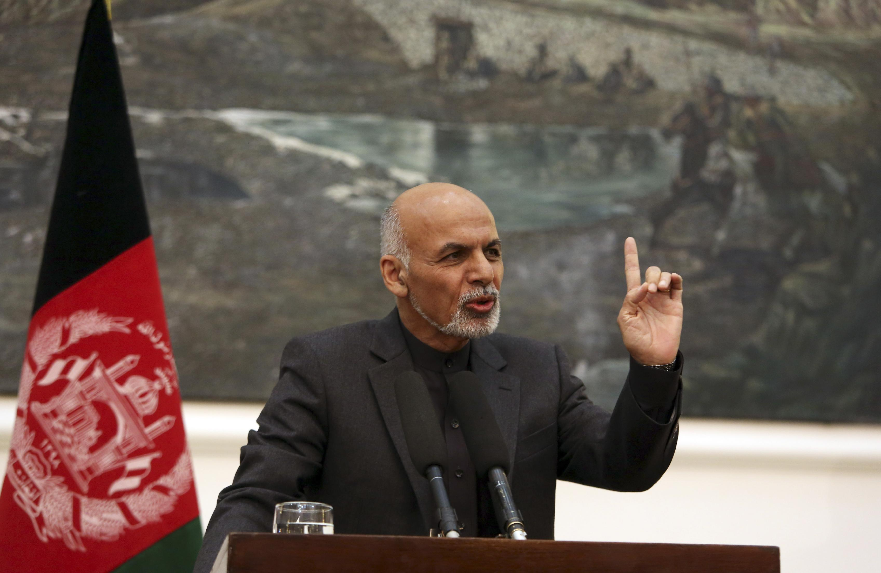 Afghan leader's two-man government raises concerns