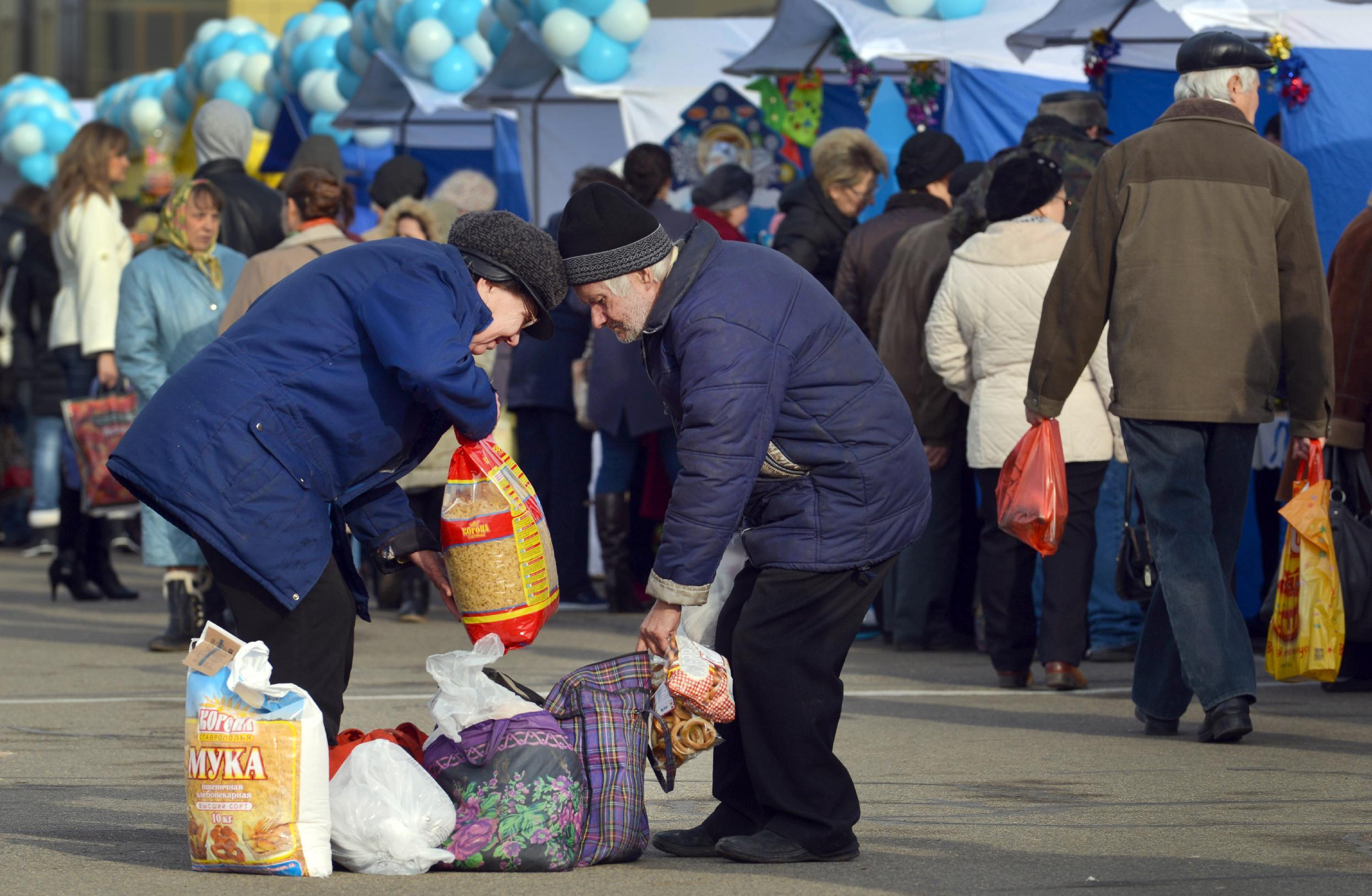 Not by bread alone: Russians urged to go without for Putin