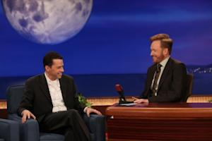 "Jon Cryer visits ""Conan"" on TBS, Jan. 26, 2011 -- Meghan Sinclair"