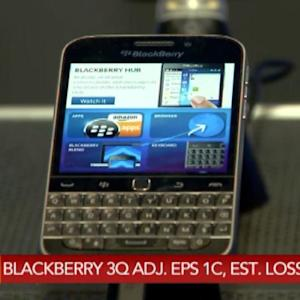 BlackBerry Earnings Beat Analysts' Forecasts