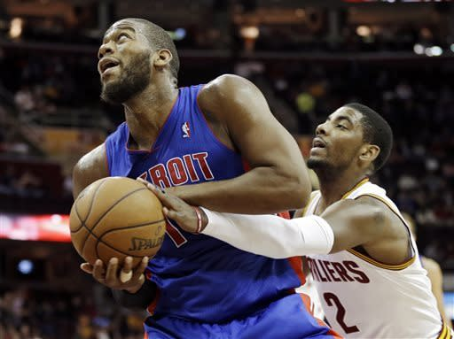 Drummond, Monroe lead Pistons past Cavs 111-104