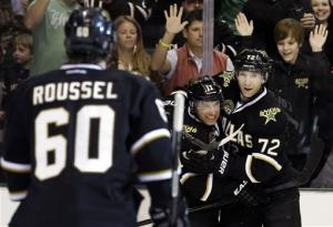 Stars pick up 4-1 victory over Blues