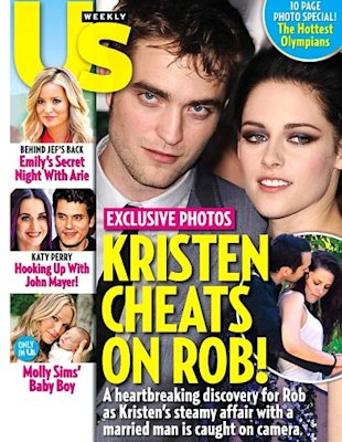 Portada de Kristen Stewart y Robert Pattinson Us Weekly