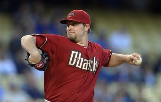 D-backs beat Dodgers 3-2 on homers by Goldschmidt